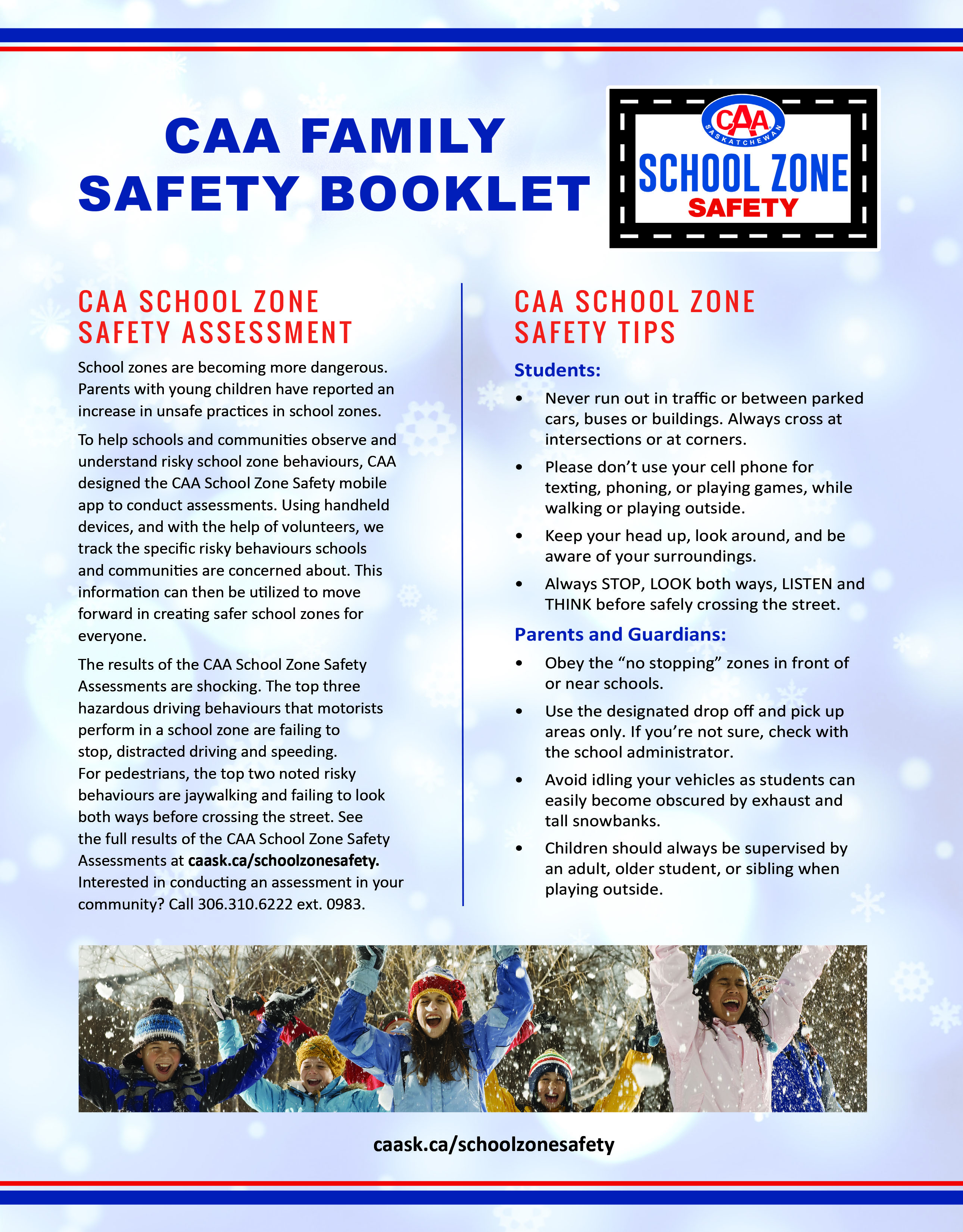 CAA Family Safety Booklet